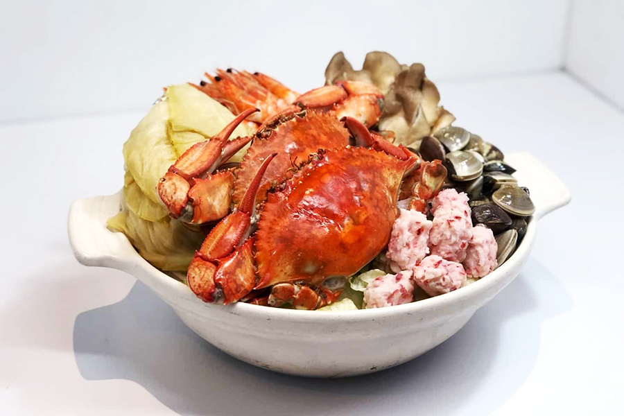 酸湯高麗螃蟹鍋